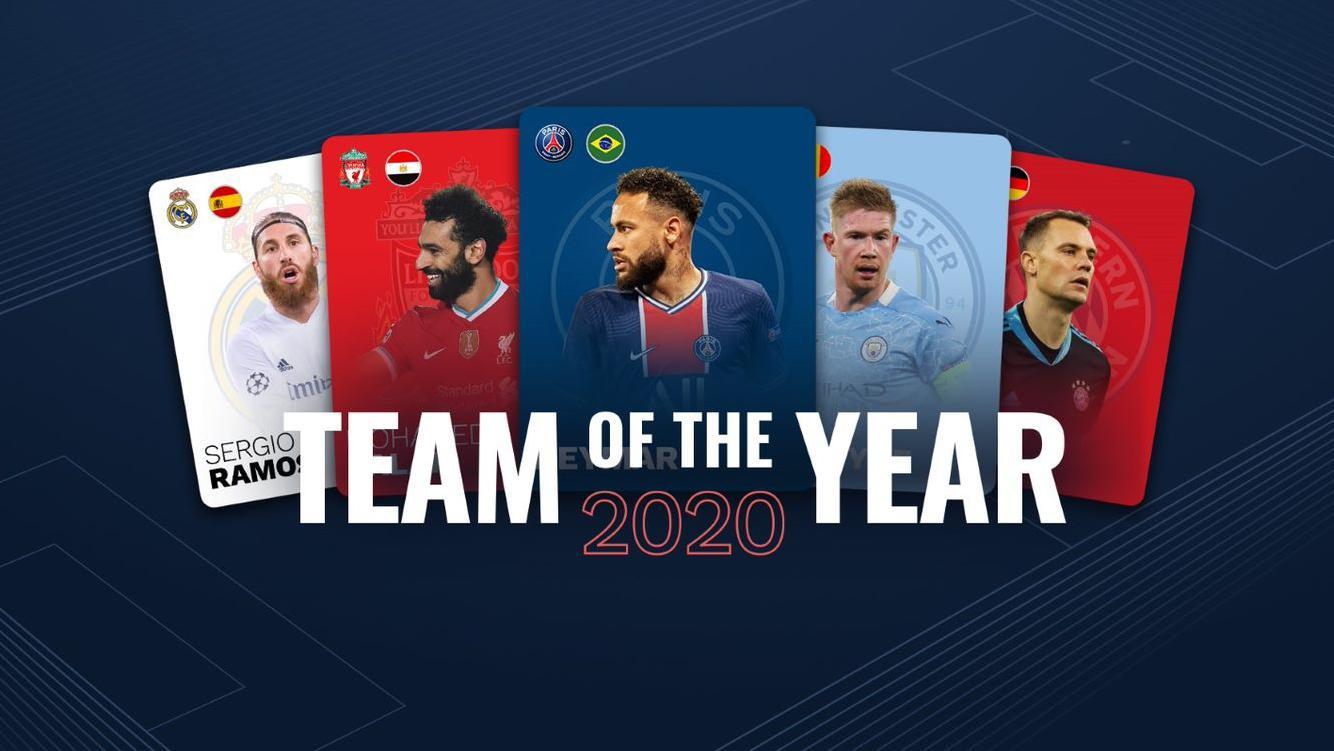 УЕФА, Команда года — 2020.
