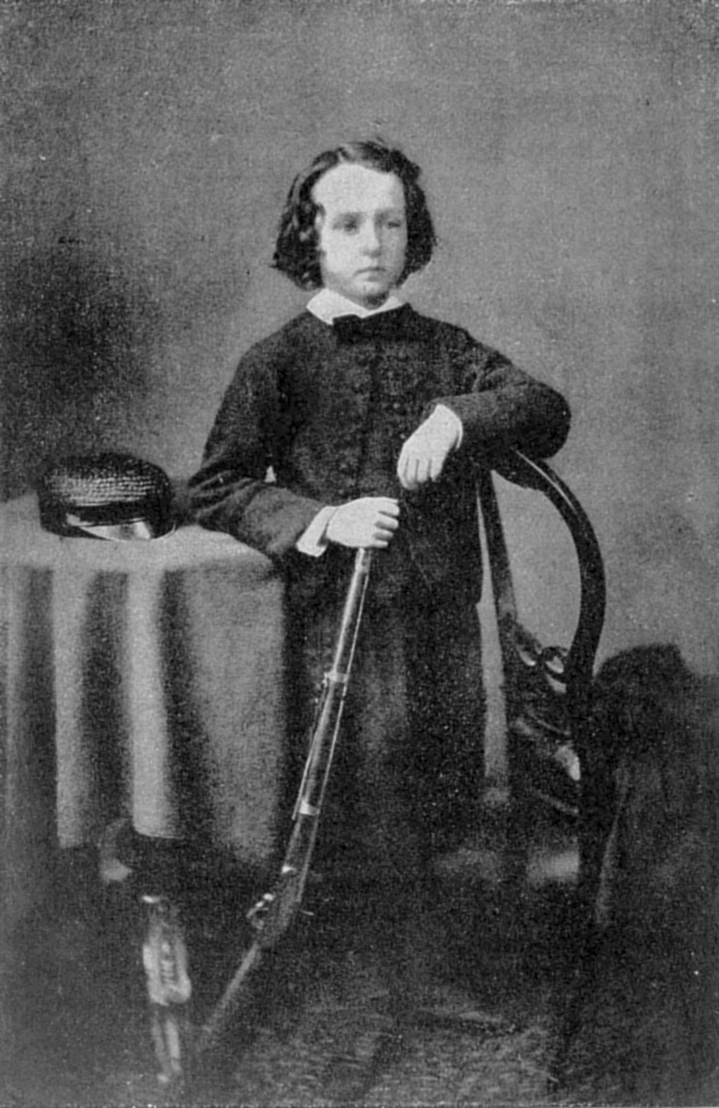 Сесил Родс в детстве.