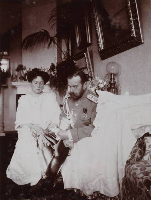 Николай 2 и Александра
