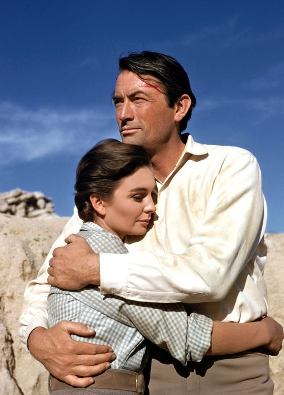 18 Jean Simmons & Gregory Peck ~ The Big Country 1958..jpg