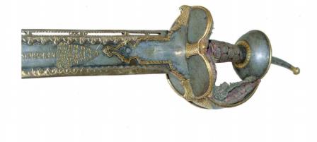 Фото 3. Рукоять палаша кханда XVIII век..PNG