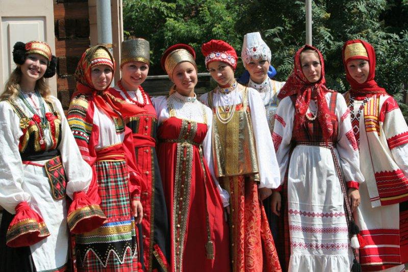 Красные свадебные платья на руси