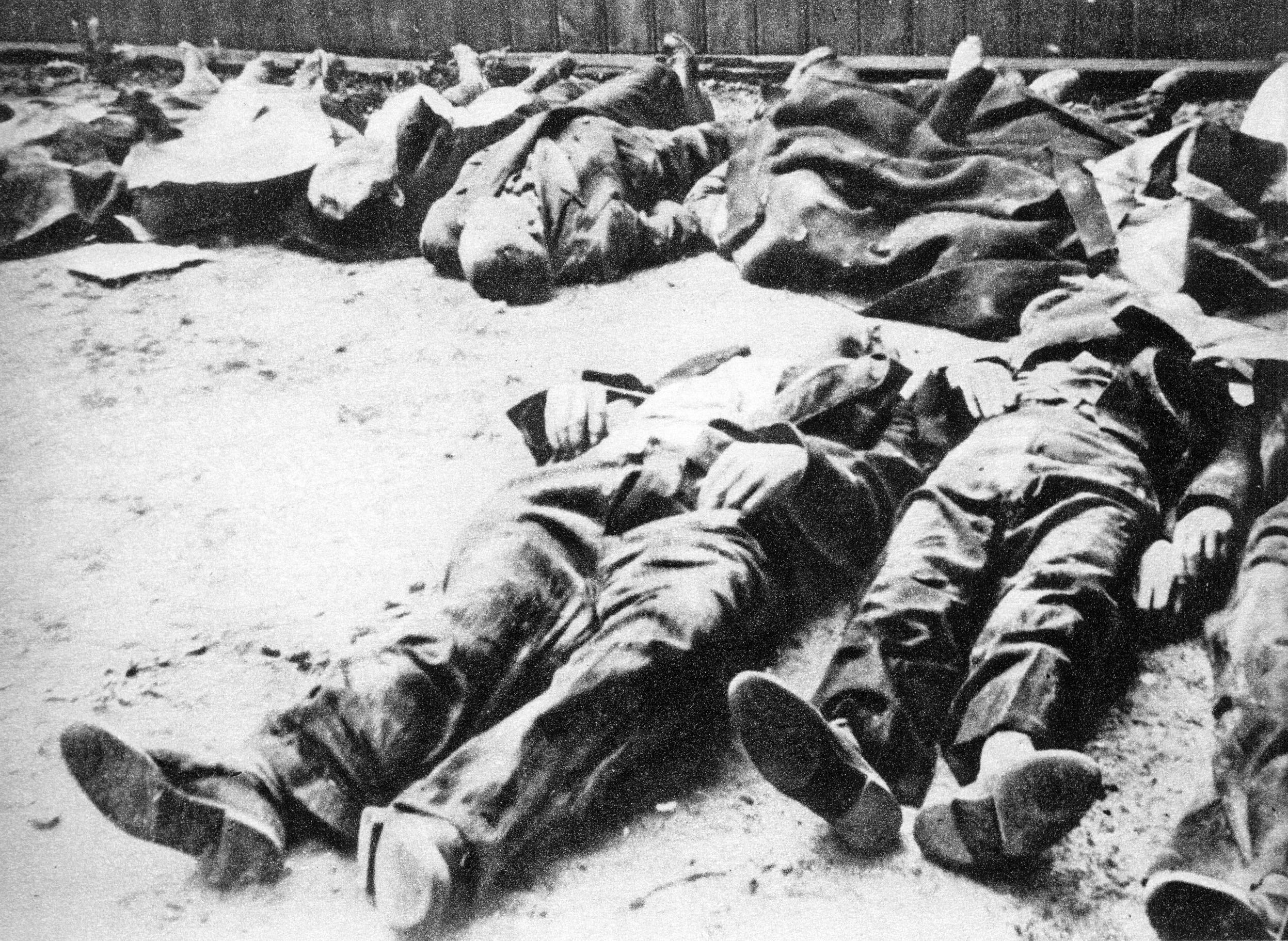 Жертвы Варшавского восстания.