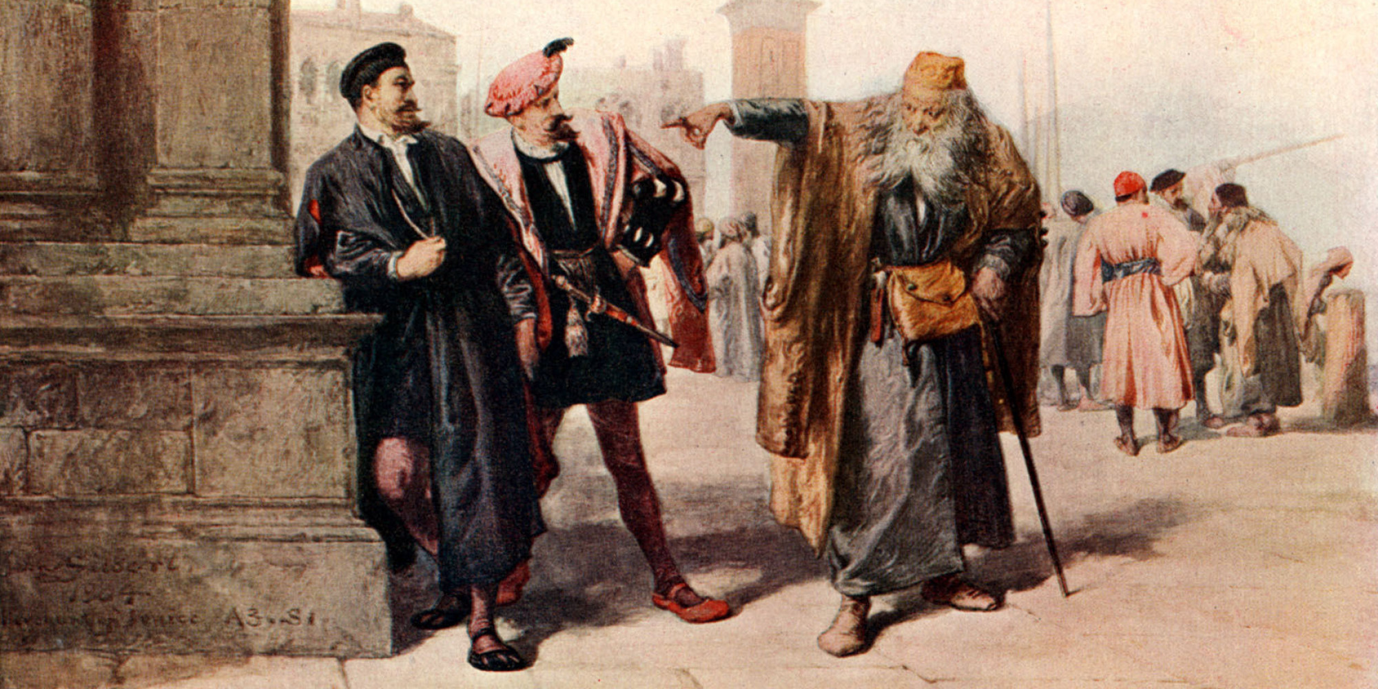 merchant of venice anti semitism The question of whether or not shakespeare endorses the anti-semitism of the christian characters in the play has been much debated jews in shakespeare's england were a marginalized group, and shakespeare's contemporaries would have been very familiar with portrayals of jews as villains and objects of mockery.