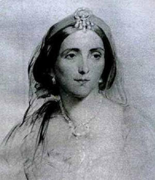 Портрет леди Стэнхоуп.  Источник: wikipedia.org