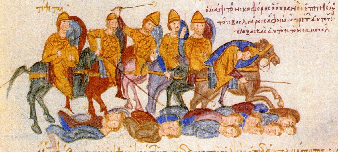 Византийская конница X века. Миниатюра из хроники Иоанна Скилицы.jpg