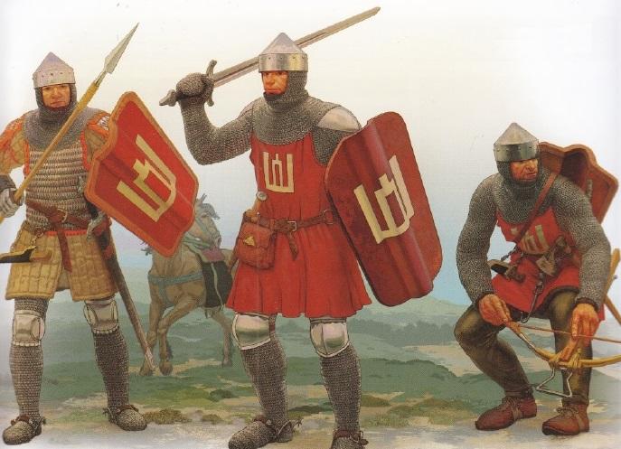 Воины Великого княжества Литовского.
