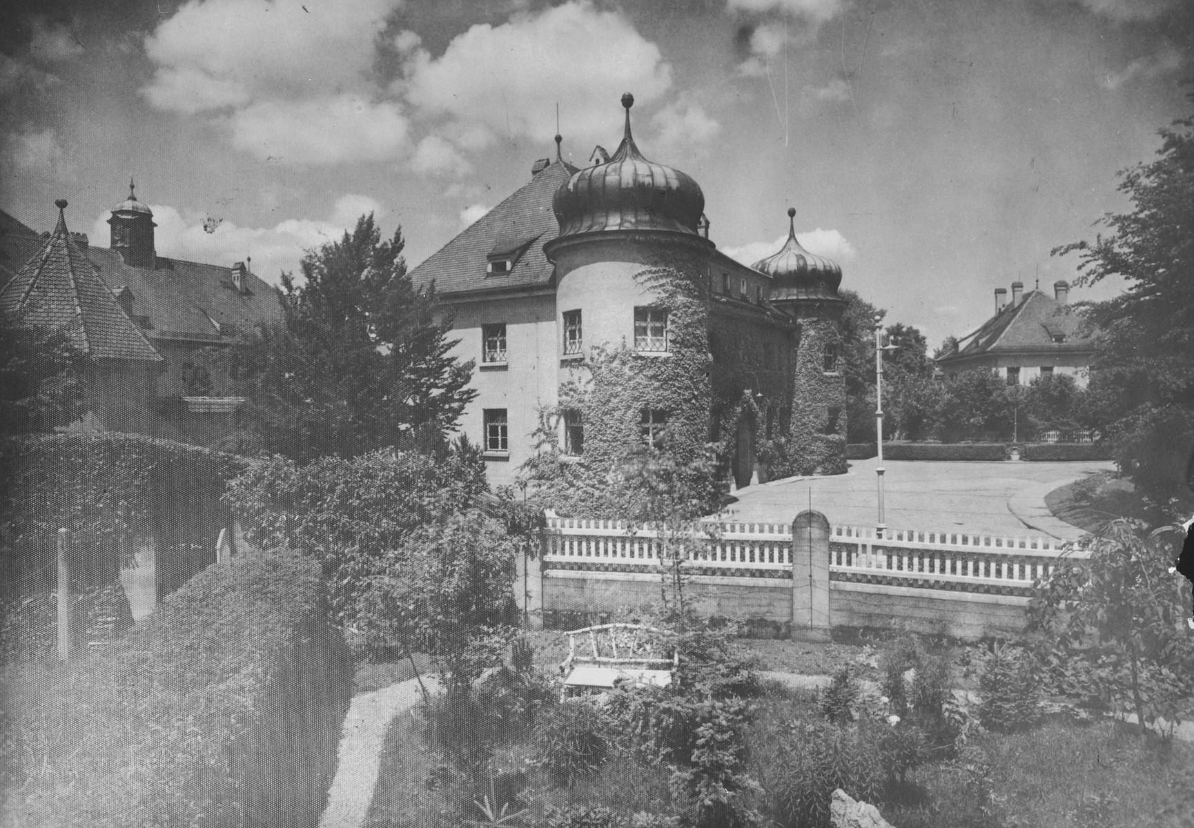 Ландсбергская тюрьма в Баварии.