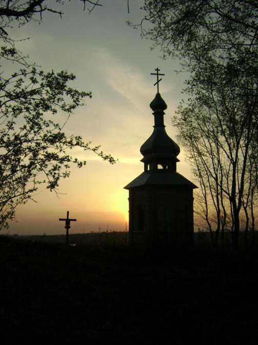 Могила Булатовича в Луциковке.