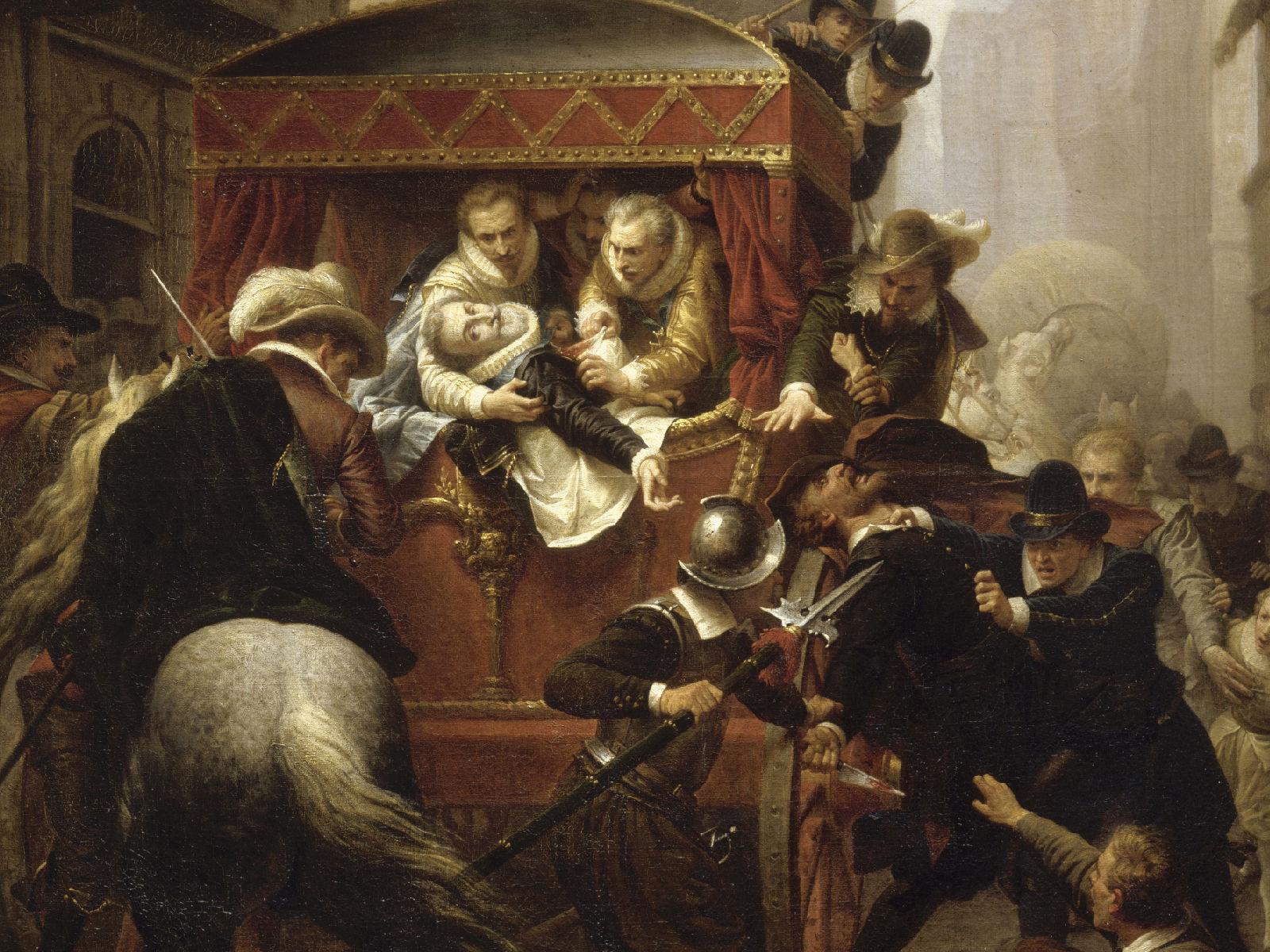 Смерть Генриха Наваррского.