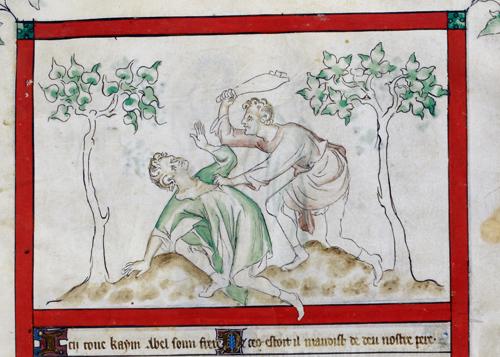 Покушение на убийство.  Источник: medievalists.net