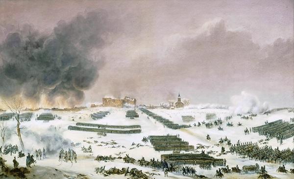 Бой за Эйлау 7февраля 1807.