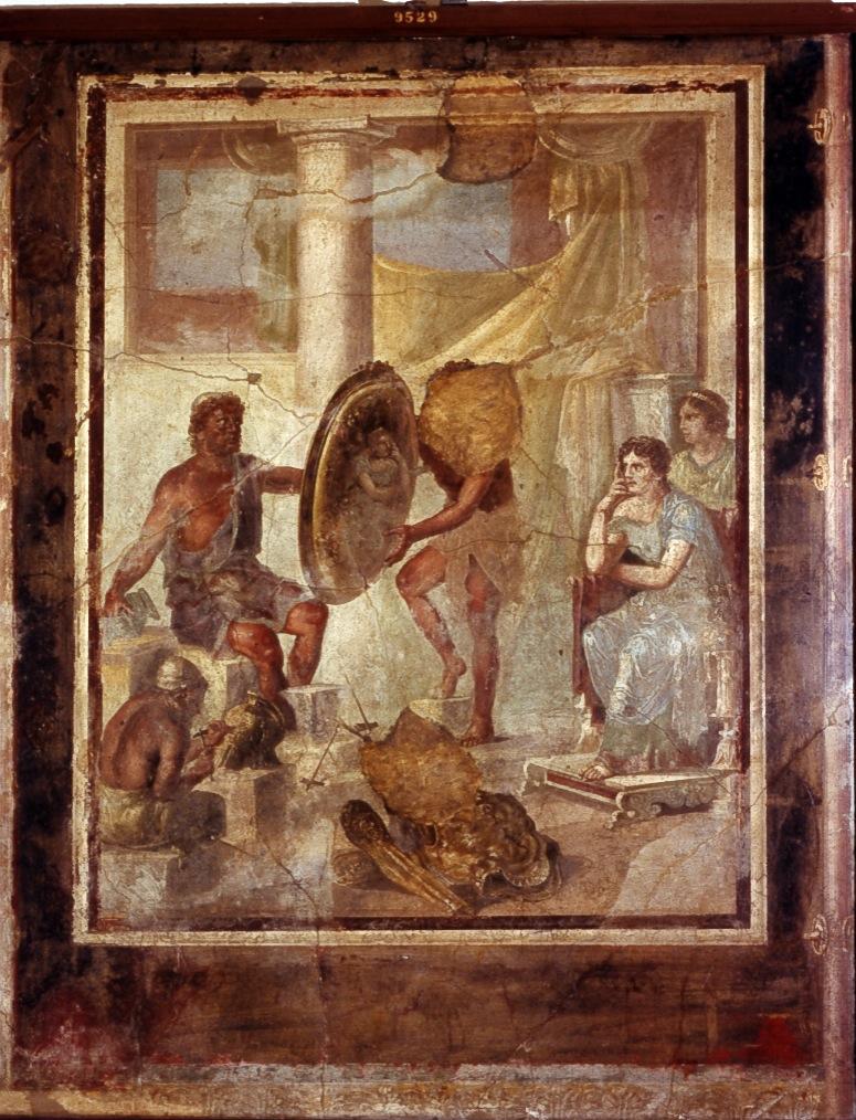 Фетида и Гефест.