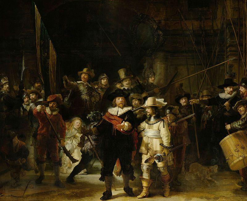 ФОТО 1 «Ночной дозор» Рембрандта (1642).jpg