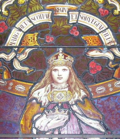 Витраж с изображением королевы Маргарет Норвежс??? ????.jpg
