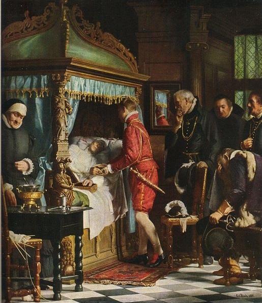17-летний Кристиан принимает власть у регента.