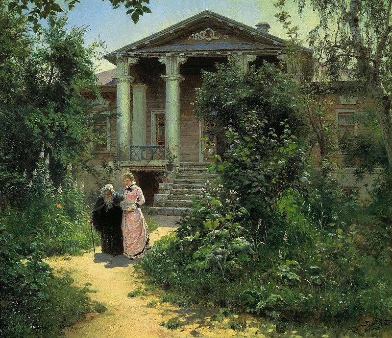 «Бабушкин сад», Василий Поленов (1878).jpg