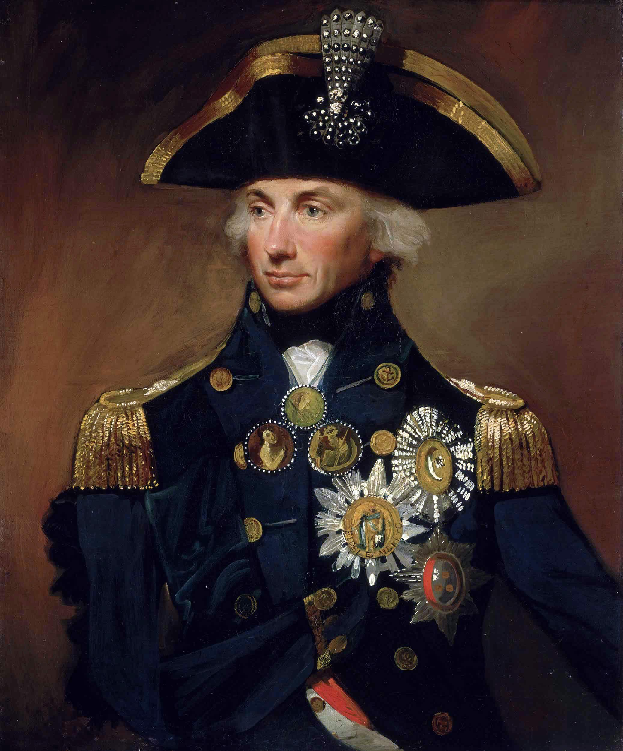Портрет Нельсона кисти Лемюэля Эббота, 1799.