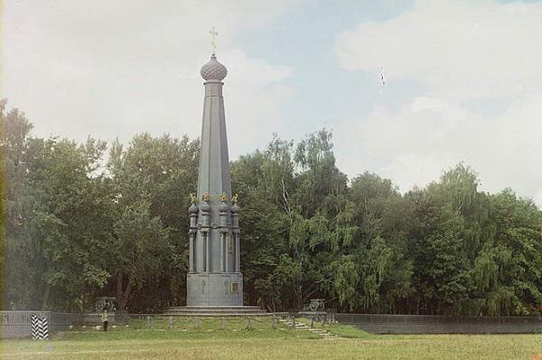 Смоленск, монумент героям войны, фото 1912 г.