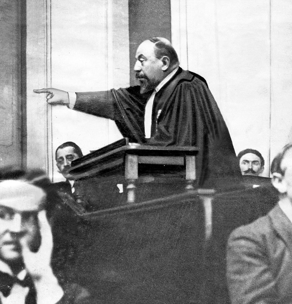 Выступление прокурора Р. Годефроя на заседании поделу Ландрю.