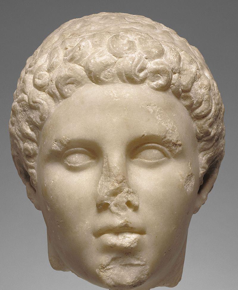 Предположительный скульптурный портрет Гефестиона.