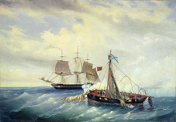 фото 1 Бой у острова Нагрен 11 июля 1808 года.jpg