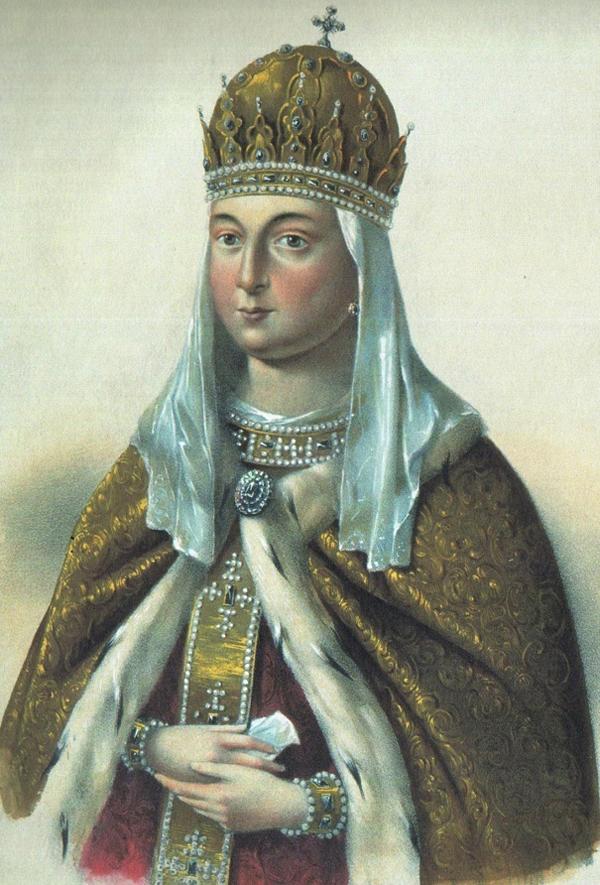 Евдокия Стрешнева, 2-я жена Михаила Романова.