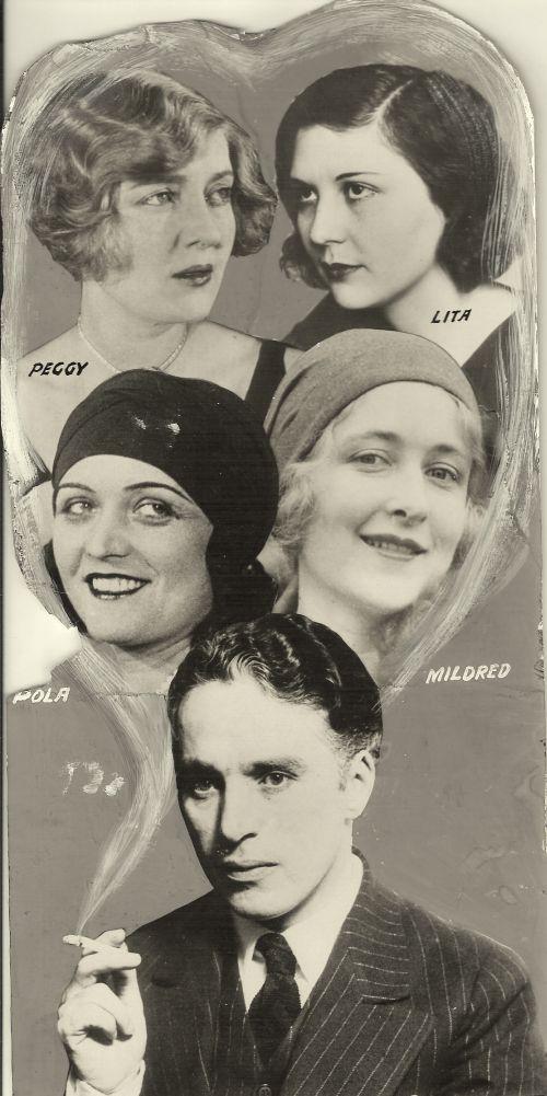 чарли чаплин фото с женой и детьми основу сюжета видео