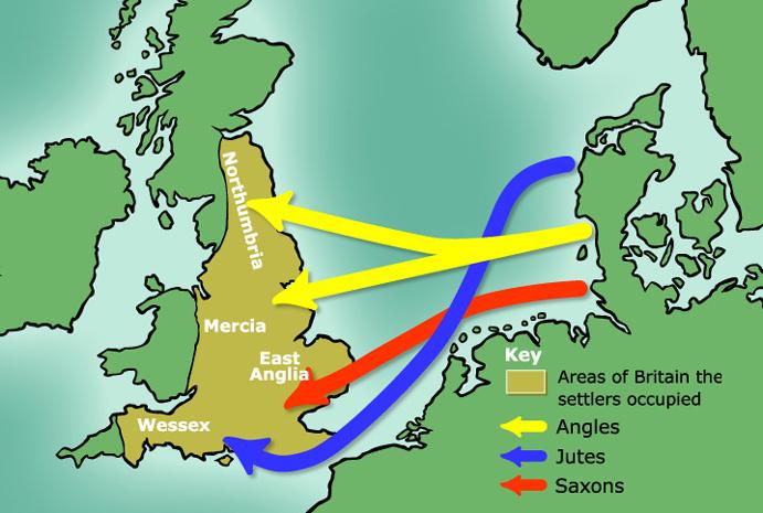 Завоевание Британии в Vвеке.