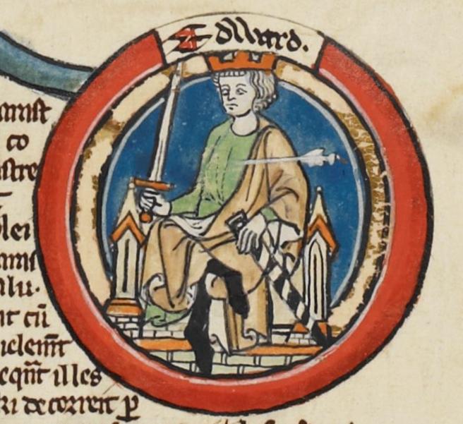 Король Эдуард Мученик [975−978]. Источник: Wikimedia Commons