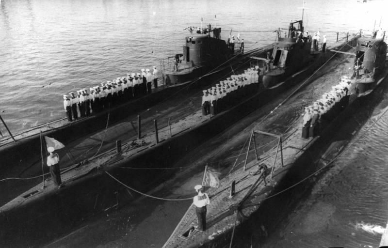 Подводные лодки типа «Щуки».