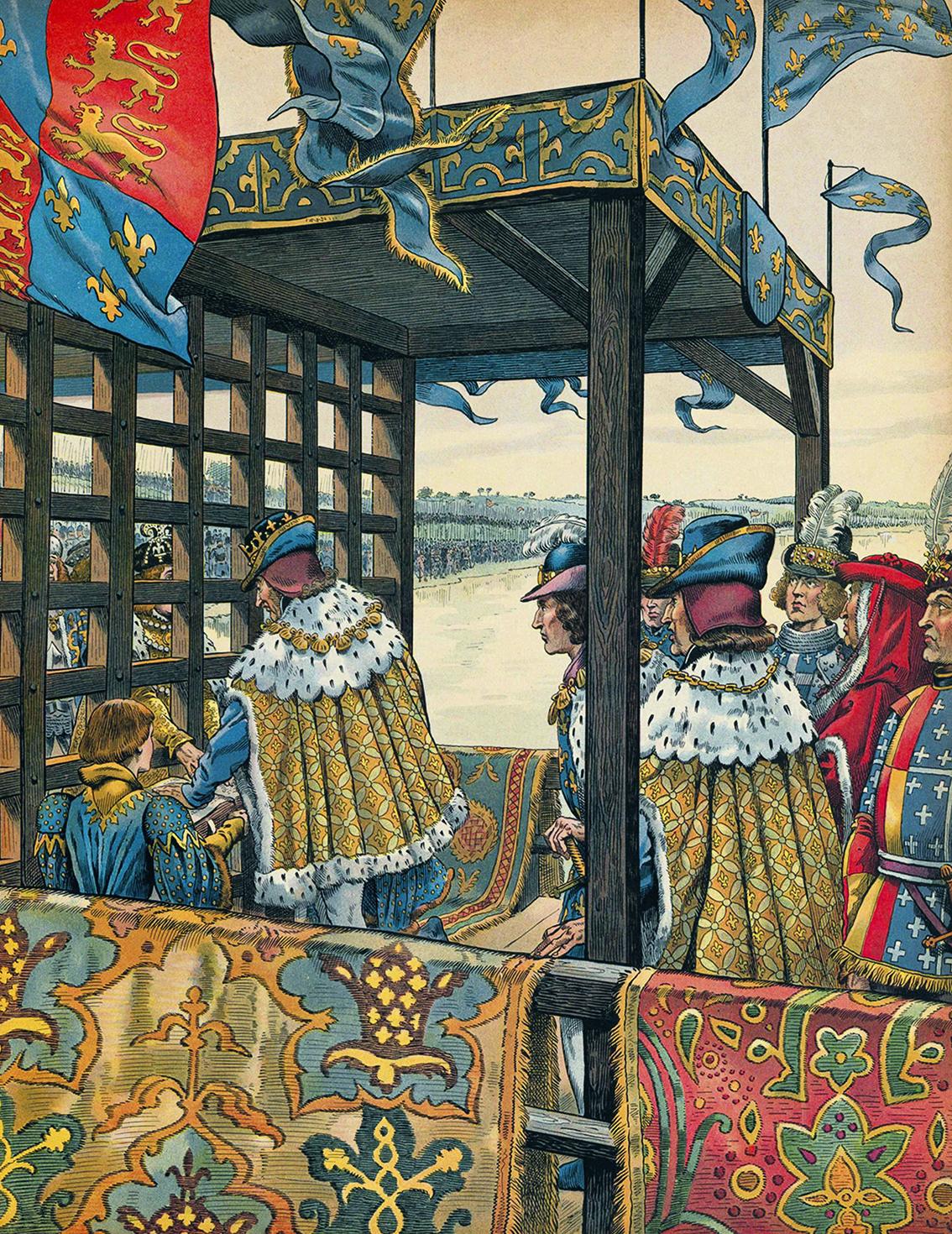 Людовик XI избегал открытого военного противостояния.