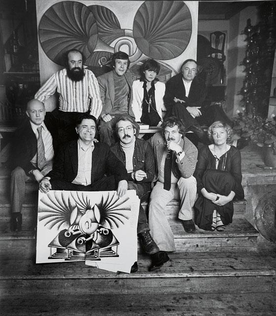 Авторы «Метрополя» с альманахом