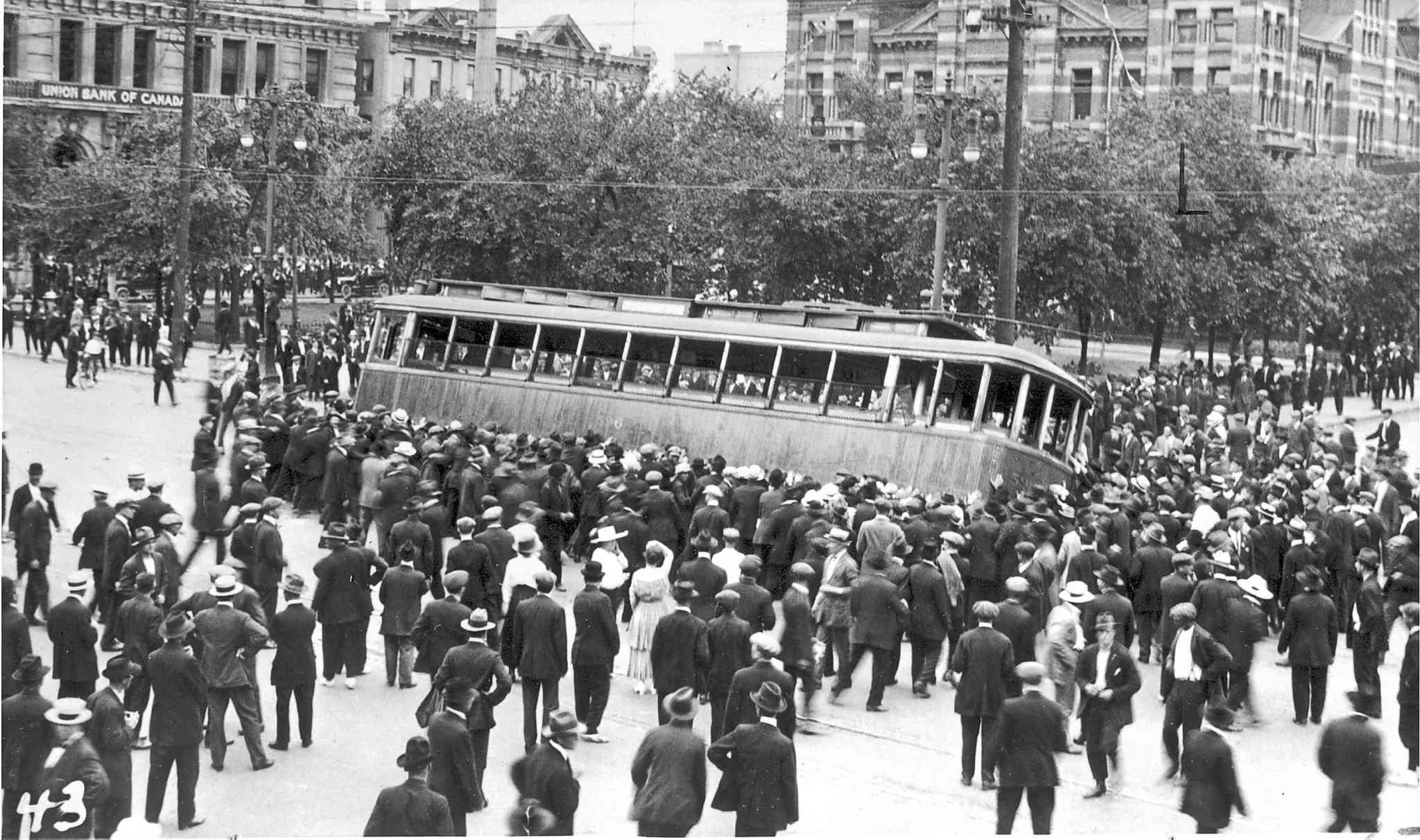 Виннипег, 21 июня 1919 года. <br>
