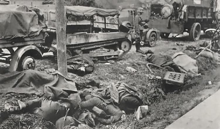 Погибшие у Бреста поляки. <br>