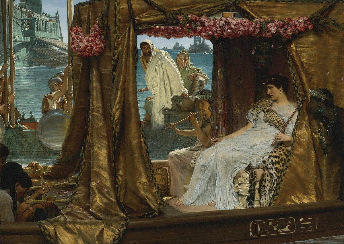 фото 4 Встреча Антония и Клеопатры_ картина Лоренса Альма-Тадема.jpg