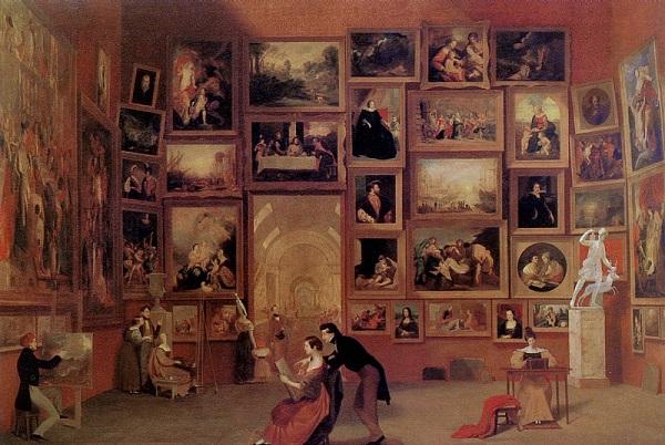 «Галерея Лувра» кисти Сэмюэля Морзе.