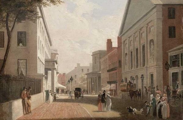 Бостон в XIX веке.