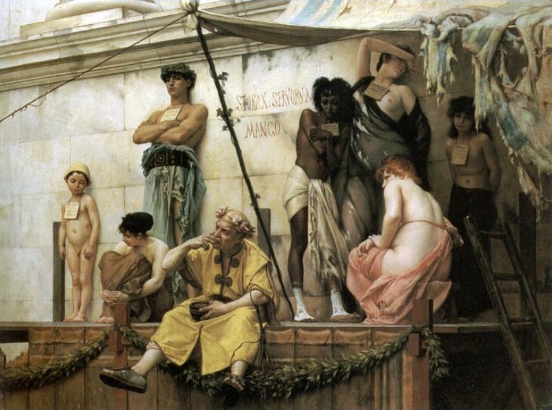 рассказы о кастрации рабов