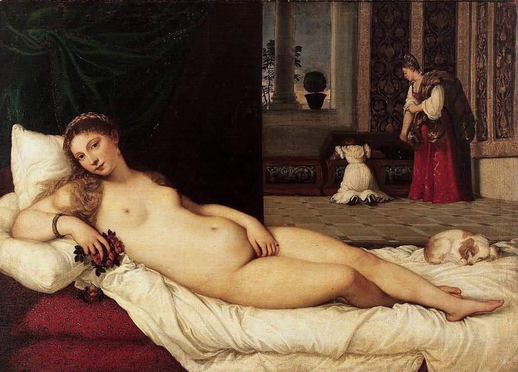 ФОТО 2 -Венера Урбинская- Тициан, 1538.jpg