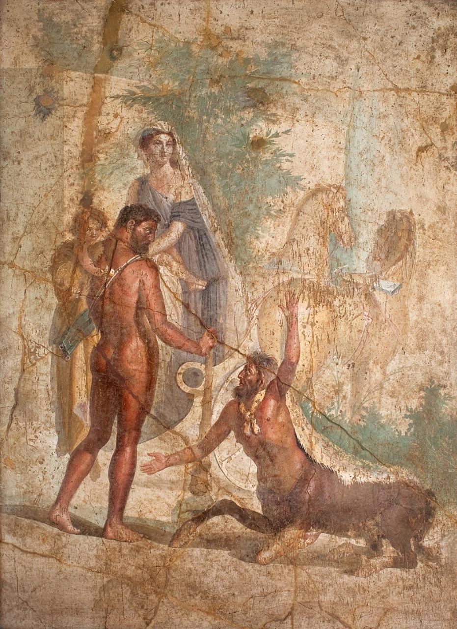 Геракл и Несс.