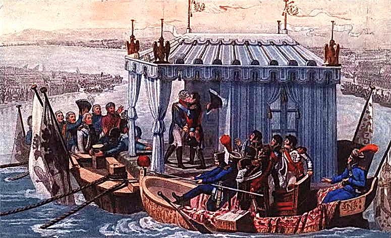 фото 4 Встреча Александра и Наполеона в Тильзите.JPG