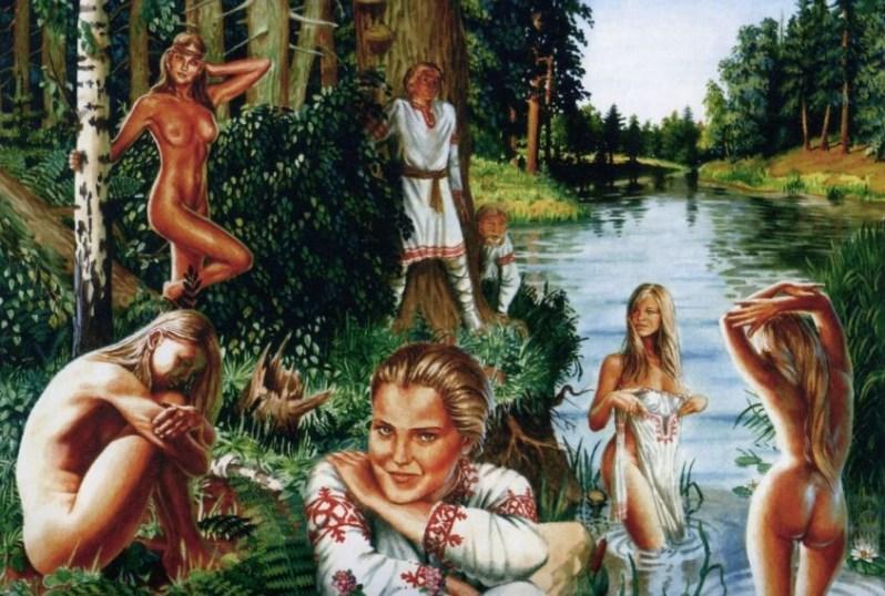 Видео секс в древней руси