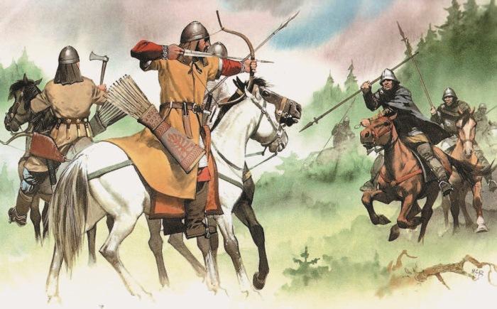 Авары в столкновении сфранками. Изкниги «Warlords: Ancient— Celtic— Medieval».