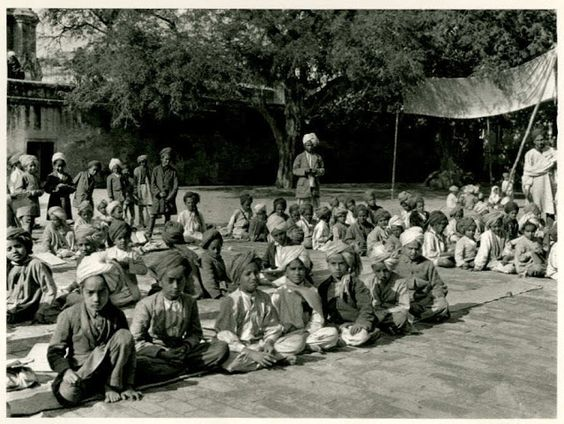 30 Sikh Students at Golden Temple in Amritsar Punjab - India 1928 .jpg