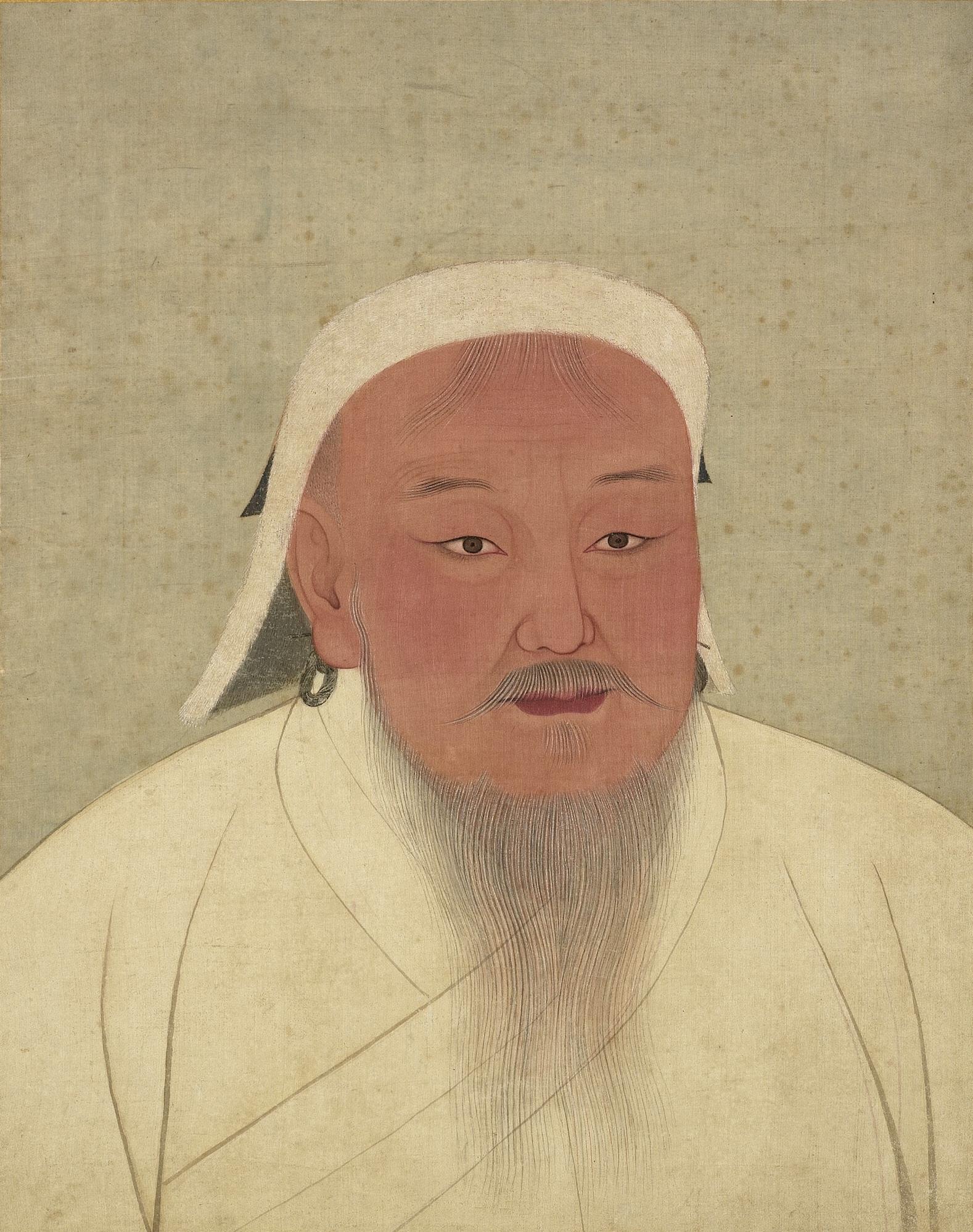Портрет Чингисхана. <br>