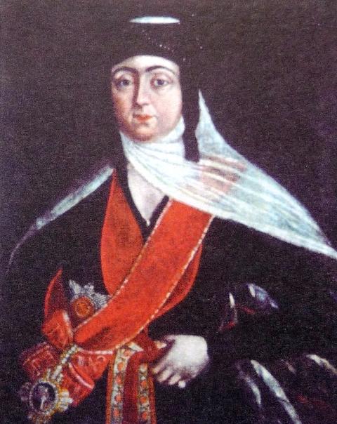 Бывшая царица Мариам.  Источник: wikipedia.org