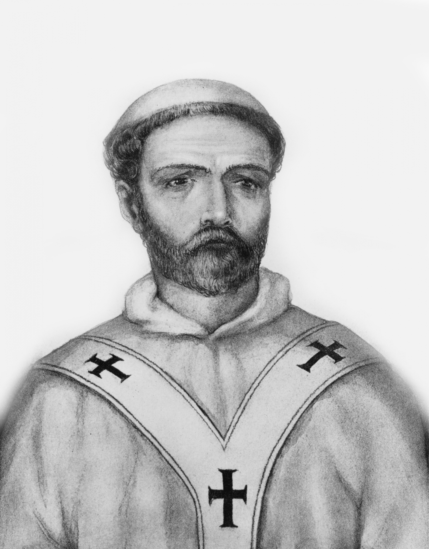 Портрет Иоанна XI. <br>