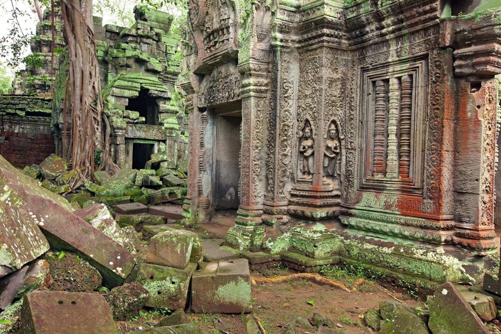 Ангкор-Ват сегодня. <br>