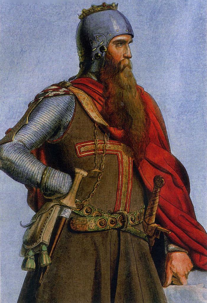 Отец Генриха Фридрих Барбаросса.